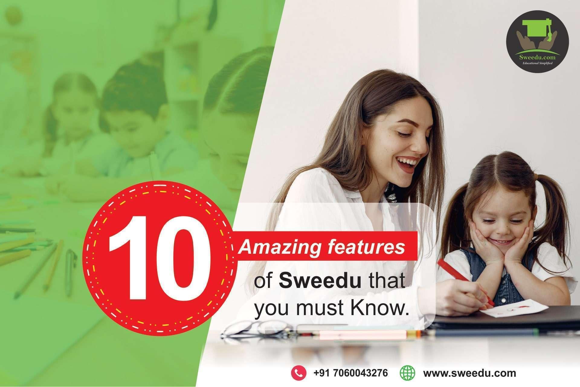 10 amazing features of sweedu