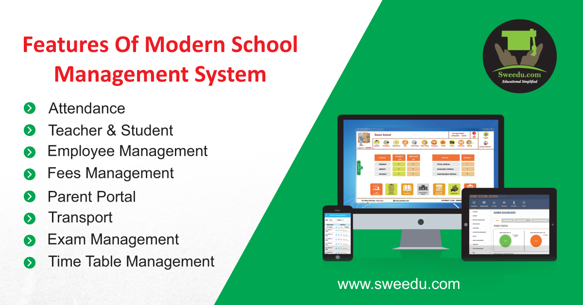 Modern School Management System