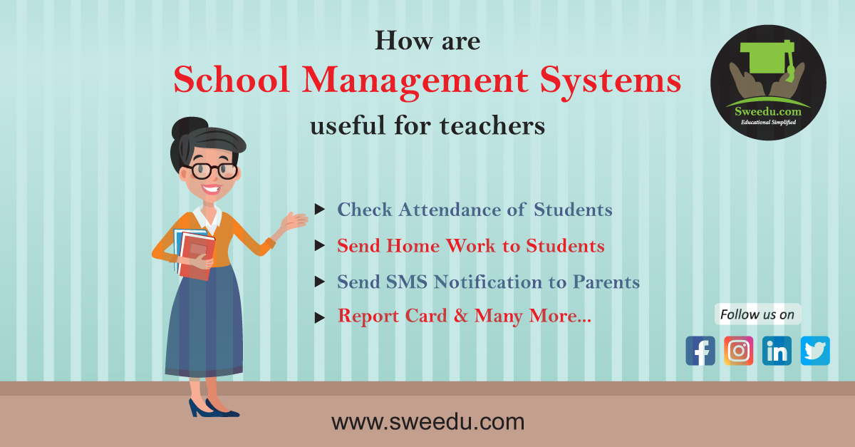 How are School Management Systems Useful for Teachers