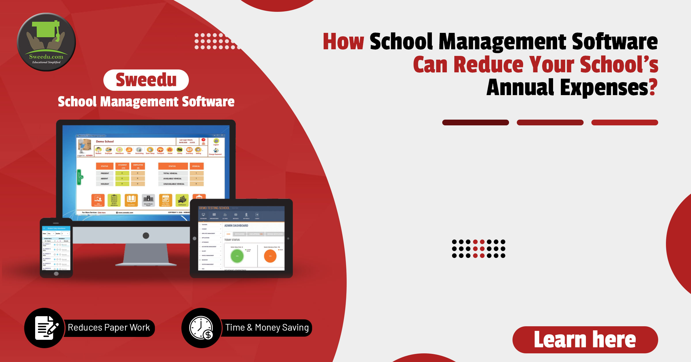 How School Management Software can Reduce your School's Annual Expenses   Learn here