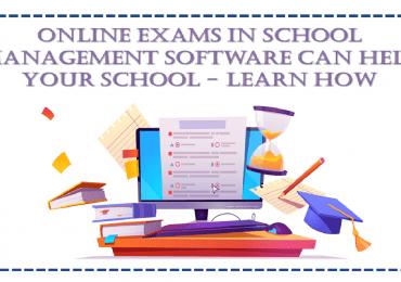 Online Exam with School Management Software
