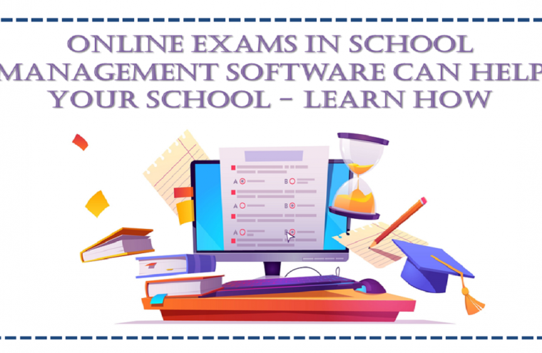 Online Exam with School Management Software