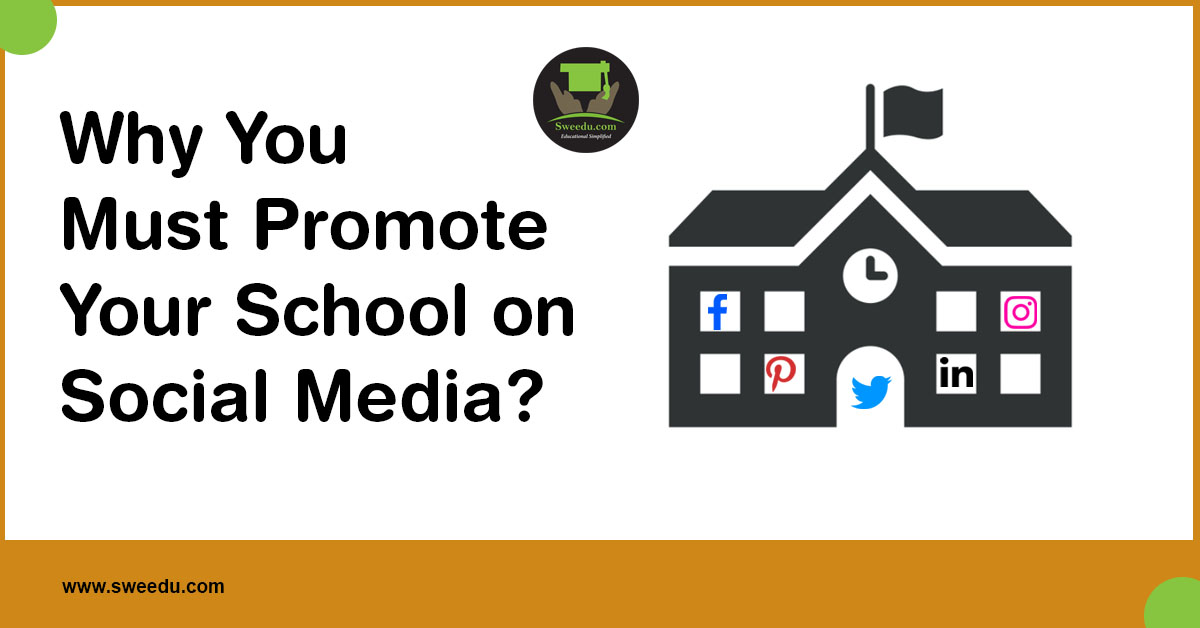 why to promote your school on social media