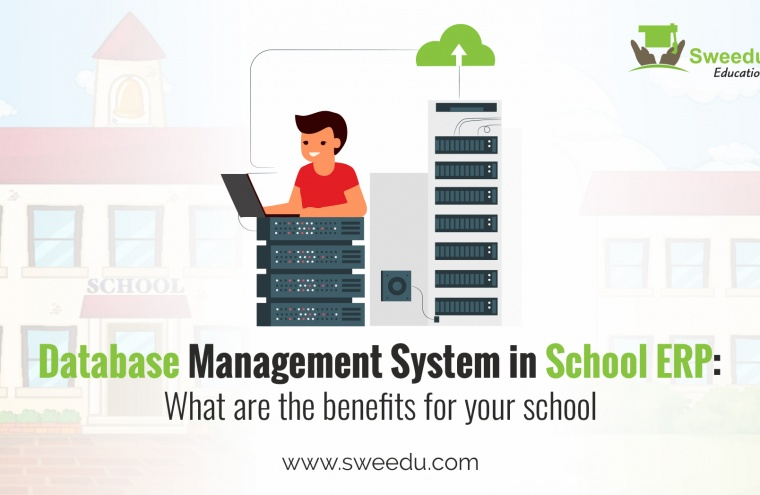 database management system in school ERP software